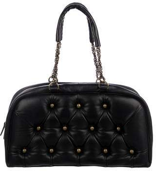 Hunting Season Leather Quilted Shoulder Bag