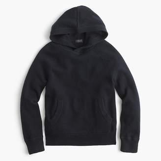 J.Crew Kids' cashmere popover hoodie