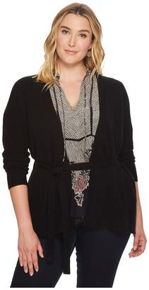 Lucky Brand Plus Size Darcey Cardigan Women's Sweater