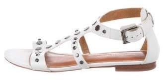 Rebecca Minkoff Leather Studded Sandals