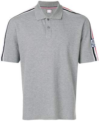 Moncler shoulder strap polo shirt