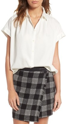 Women's Madewell Central Blouse $69.50 thestylecure.com