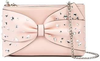 Christian Siriano embellished bow crossbody bag