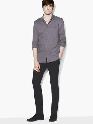 John Varvatos Roll-Sleeve Shirt
