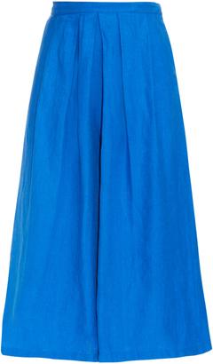 RACHEL COMEY Wayward linen culottes $391 thestylecure.com