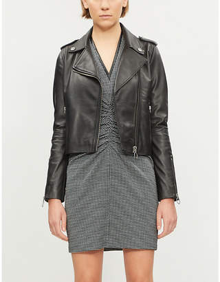 Pinko Tenaglia leather jacket