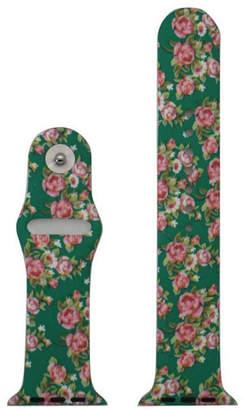 OLIVIA PRATT Olivia Pratt Compatible With Apple Watch Unisex Green Watch Band-8844floralgreen38