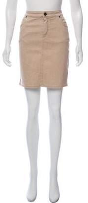Lanvin Mini Denim Skirt w/ Tags