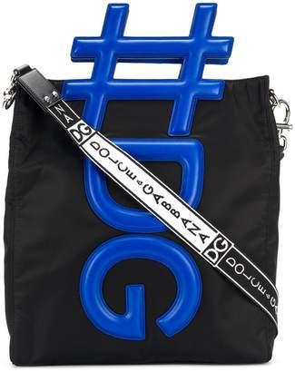 Dolce & Gabbana 3D logo messenger bag