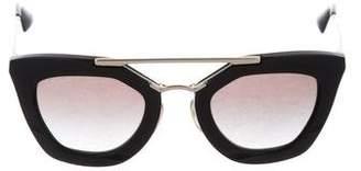 Prada Resin Tinted Sunglasses