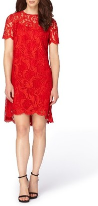 Women's Tahari Corded Lace Swing Dress $168 thestylecure.com
