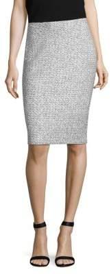 St. John Olivia Boucle-Knit Skirt