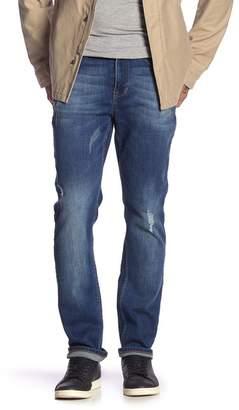 "Seven7 Slim Straight Leg Jeans - 30-34\"" Inseam"