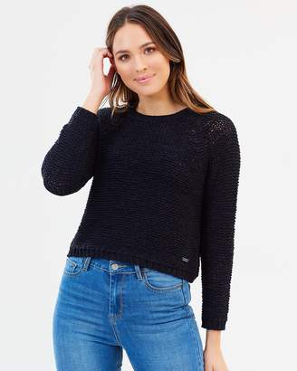 Only Isabellas Long Sleeve Cropped Knit