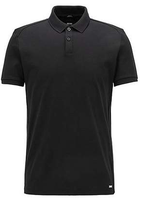 HUGO BOSS Mercedes-Benz Collection slim-fit polo shirt in structured cotton