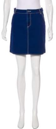 MiH Jeans Denim Mini Skirt