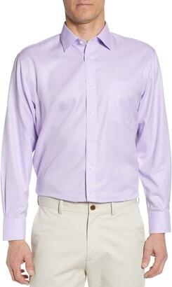 Nordstrom Smartcare(TM) Traditional Fit Herringbone Dress Shirt