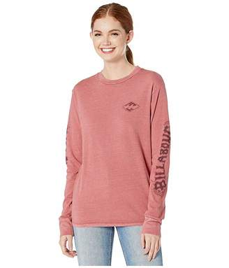 Billabong Painted Logo Long Sleeve T-Shirt