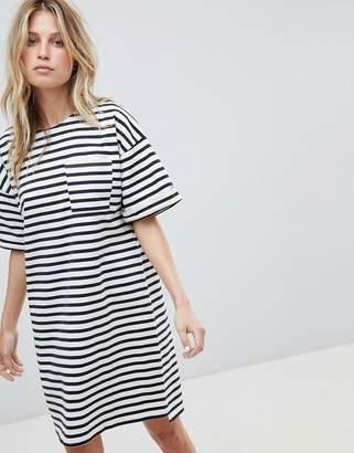 Whistles Amaka Stripe Pocket Dress