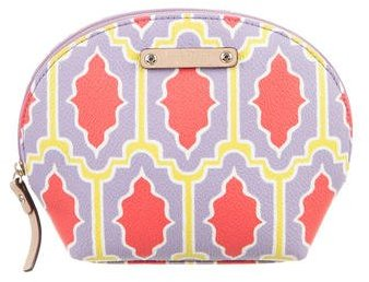 Kate Spade Kate Spade New York Multicolor Canvas Cosmetic Bag