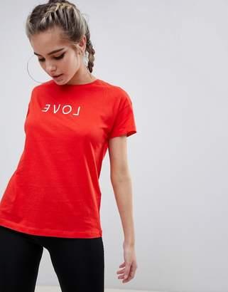 Noisy May Love Slogan T-Shirt