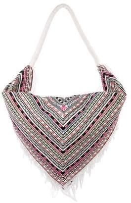 Mara Hoffman Embroidered Scarf Bag w/ Tags