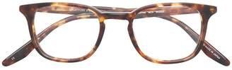 Barton Perreira Woody round frame glasses