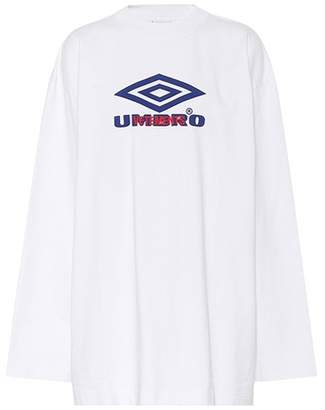 Vetements X Umbro cotton sweater