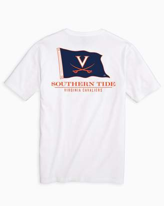 Southern Tide Gameday Nautical Flags T-shirt - University of Virginia