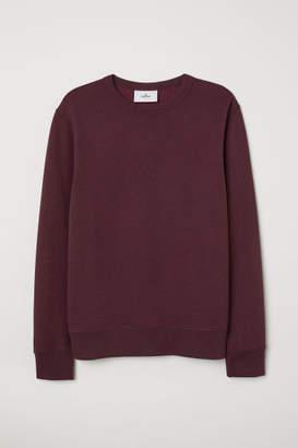 H&M Silk-blend Sweatshirt - Pink
