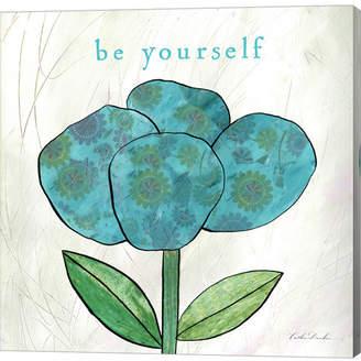 Paper Flower I by Caitlin Dundon Canvas Art