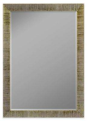 Hitchcock-Butterfield 22-Inch x 58-Inch Textured Accent Mirror in Silver