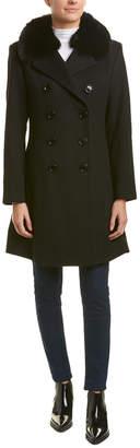 Sofia Cashmere Sofiacashmere Princess Wool-Blend Coat