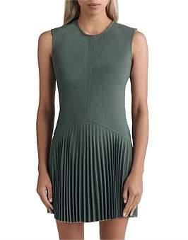 Dion Lee Annex Pleat Mini Dress