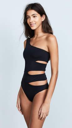 OYE Swimwear Delphine One Shoulder Swimsuit