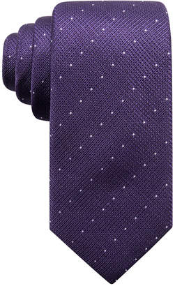 Alfani Men's Parkside Dot Silk Slim Tie