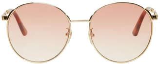 Gucci Gold Sensual Romanticism Sunglasses