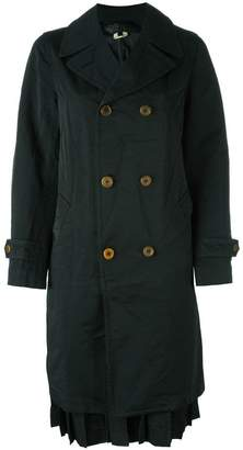 Comme des Garcons double breasted coat