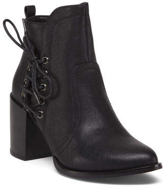 Side Lace Bootie