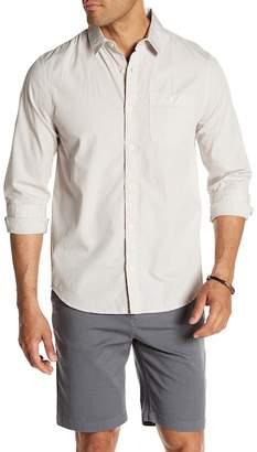 Threads 4 Thought Long Sleeve Organic Poplin Regular Fit Shirt