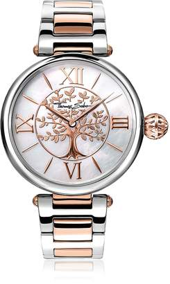 Thomas Sabo Karma Silver and Rose Gold Stainless Steel Women's Watch