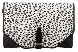 3.1 Phillip Lim Textured Leather Clutch
