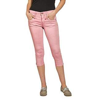 56a95f3e44027e Tom Tailor NOS) Women s Alexa Capri Jeanshose Slim Jeans
