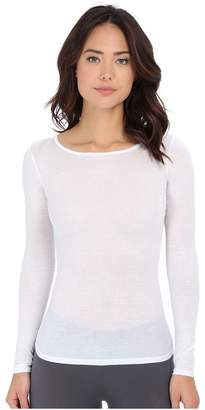 Hanro Ultralight Long Sleeve Top Women's Clothing