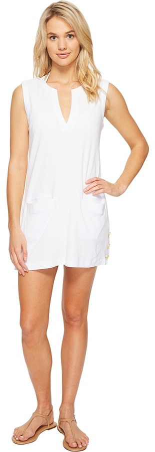 Lauren Ralph LaurenLAUREN Ralph Lauren Button Tunic Cover-Up