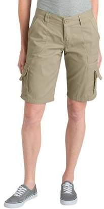 "Dickies Women's 11"" Relaxed Fit Cotton Cargo Short"