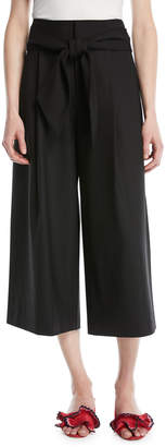 Club Monaco Izabelah Cropped Wide-Leg Pants