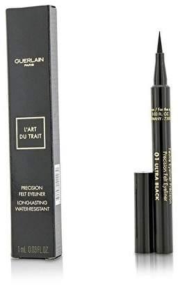 Guerlain Precision Felt Eyeliner - # 01 Ultra Black - 1ml/0.03oz