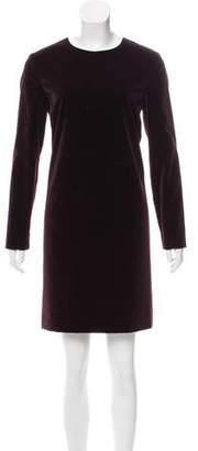 Theory Long-Sleeve Mini Dress