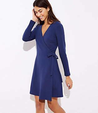 8a6d3e12e1a Petite Wrap Dress - ShopStyle